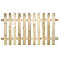 Steccato 180x90cm Maremma in legno impregnato