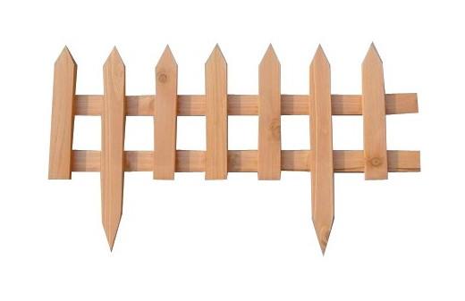 Steccato Per Giardino : Steccato in legno per aiuole cm i giardini del re