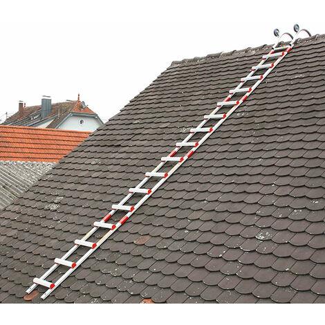 Steckbare Alu Dachleiter HIM - Sprossenabstand 28cm (in verschiedenen Größen erhältlich)