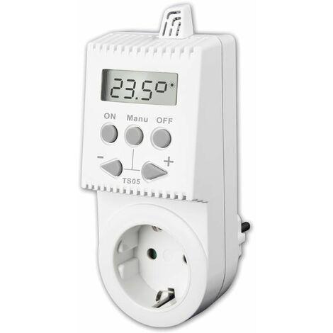B-Ware Steckdosenthermostat Thermostatstecker Thermoschalter  TS05