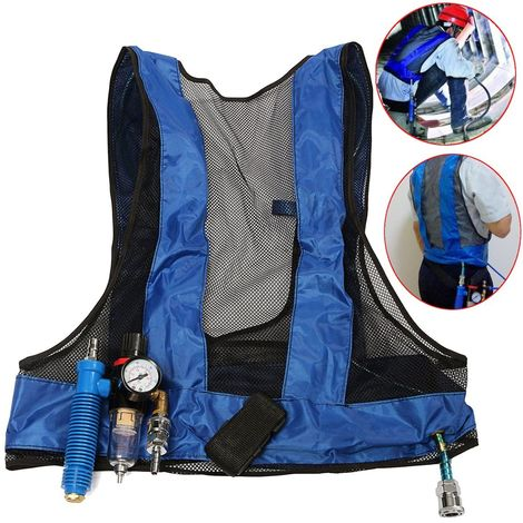 Steel air conditioning vest compression welding cooling vest tube size