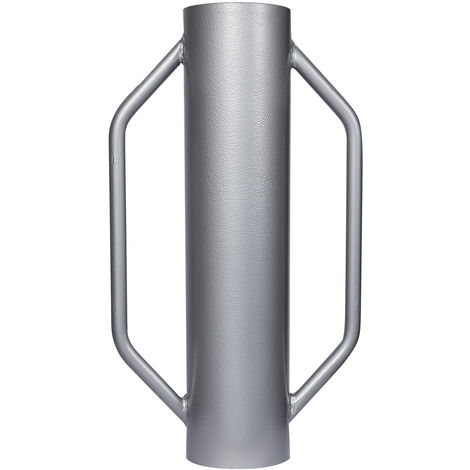 Steel Post Driver 13.5kg with ⌀14cm and Practical Handles for Fencing and Soil Compaction