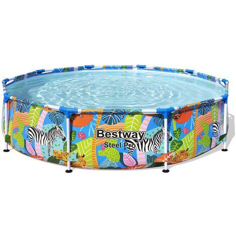 Steel Pro™ Frame Pool ohne Pumpe, rund, 305 x 66 cm
