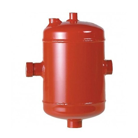 Steel spill chamber for domestic installations 1?