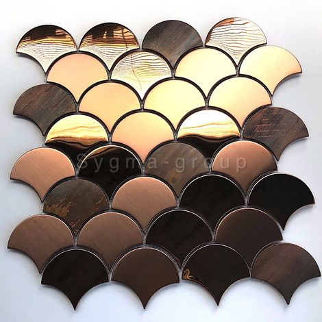 steel tile copper color for kitchen wall Hoopa