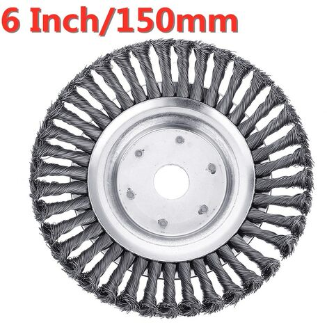 """main image of """"Steel Wire Trimmer Head Grass Brush Cutter Dust Removal Plate for Lawnmower"""""""