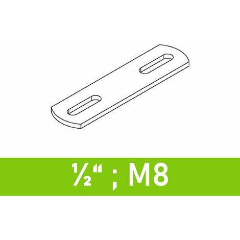 """Steg für Bügelschrauben 1/2"""" (21,3 mm) - M8"""