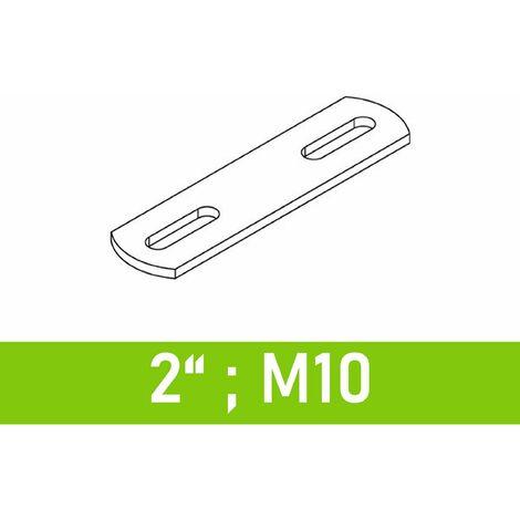 """Steg für Bügelschrauben 2"""" (60,3 mm) - M10"""