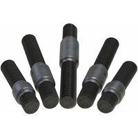Stehbolzen Stiftschrauben 8.8 Stahl Bolzen Gewindestifte Abgasanlage