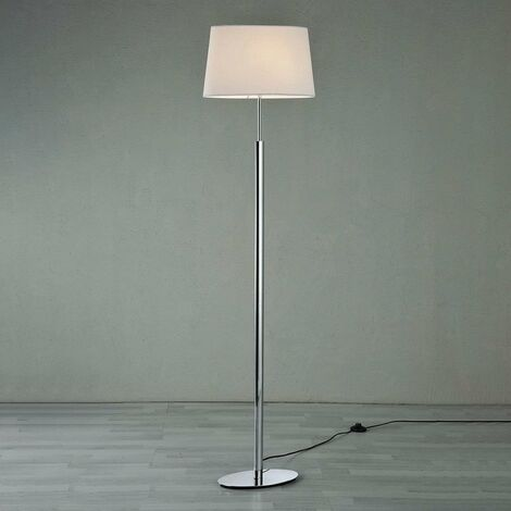 Stehlampe aus Textil für Wohnzimmer & Esszimmer von Lampenwelt -