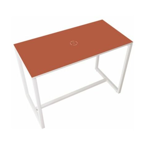 Stehtisch für BEsprechungen | Mit Massivholz-Tischbeinen | HxBxT 1100 x 1140 x