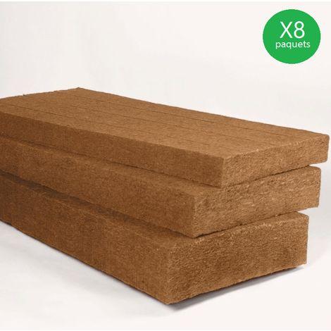STEICO Flex 50x1220x575 vendu par lot de 72 panneaux soit 50,48m² (8 paquets) - lot(s) de 50,48m²