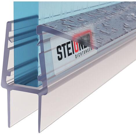 STEIGNER Duschdichtung, Gerade PVC Ersatzdichtung für Dusche, UK20