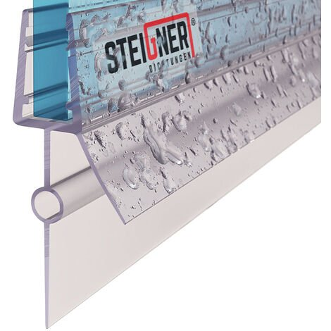 STEIGNER Duschdichtung, Gerade PVC Ersatzdichtung für Dusche, UK22