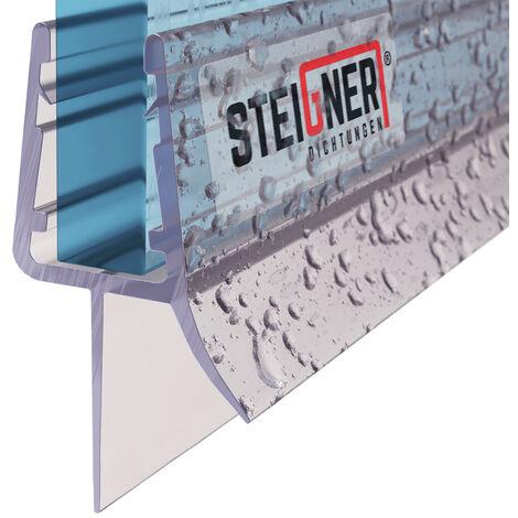 STEIGNER Duschdichtung, Gerade PVC Ersatzdichtung für Dusche, UK33