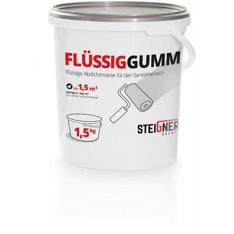 STEIGNER Étanchéité liquide sous carrelage, revêtement liquide pour receveurs de douche 4,5 kg - 4.5 KG