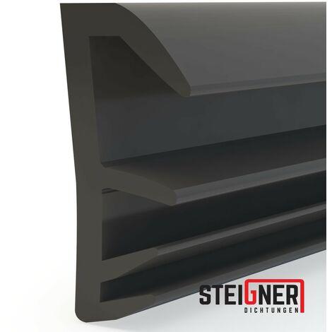 STEIGNER Joint de feuillure de battant Joint d\'étanchéité de fenêtre Largeur de rainure 5 mm en TPE, 15m, MARRON, SFD14 - MARRON