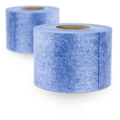 STEIGNER Natte d'étanchéité pour douche à l'italienne 1 mb largeur 200 cm Roulon Bleu Membrane de protection à l'eau sous carrelage