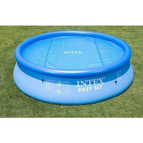 Steinbach Solarnoppenfolie für Intex Swimming Pools blau für Ultra Frame rechteckig 549 x 274 cm