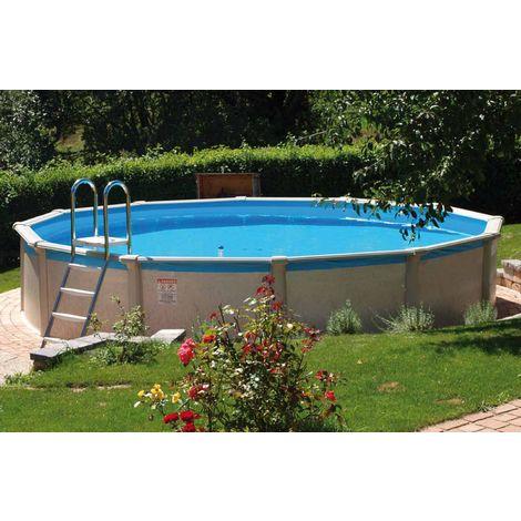 """Steinbach Swimming Pool """"Grande rund"""" 457 x 135 cm mit Sandfilteranlage"""