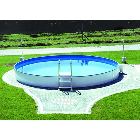 "Steinbach Swimming Pool ""Styria rund 500 x 150"" weiß Ø 500 x 150 cm"