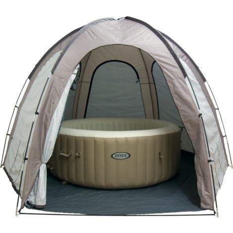 Pavillion Mehrere Größen  Zelt Metall Poolpartyzelt Pooldach Gartenpavillion Neu