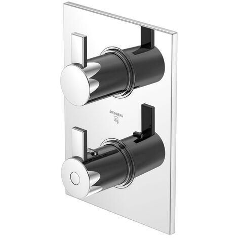 Steinberg Série 120 Kit de montage complet pour thermostat encastré, uniquement en liaison avec 0104130 - 1204123