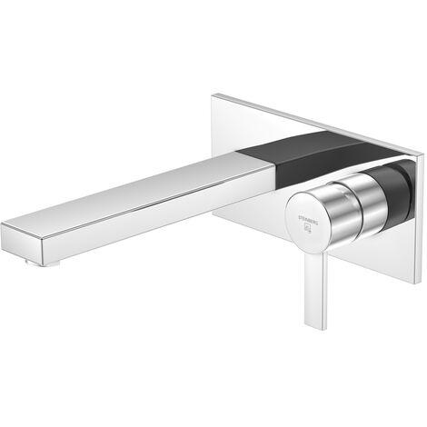 Steinberg Serie 120 lavabo monomando grifo monomando empotrado, proyección de 200 mm - 1201856