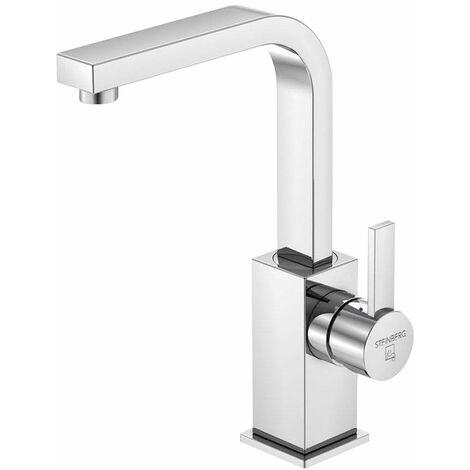 Steinberg Serie 120 Mezclador monomando de lavabo con desagüe, cromado - 1201500