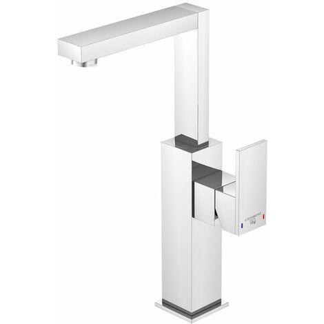 Steinberg Serie 160 Mezclador monomando para lavabo, altura 260 mm, sin residuos, cromado - 1601550
