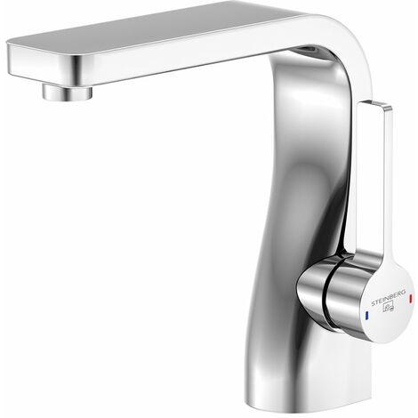 Steinberg Serie 230 Mezclador monomando de lavabo con cartucho cerámico, con 1 1/4 de desagüe, cromado - 2301000