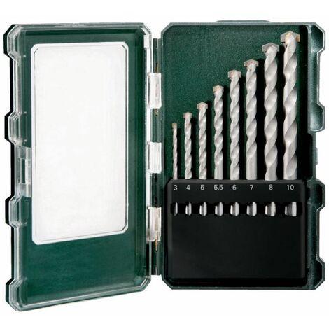 Steinbohrer Sortiment 8-teilig Ø 3 bis 10 mm