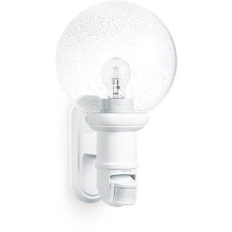 Sensore Accensione Lampade Con Crepuscolare.Steinel 634315 Lampada Con Sensore A Raggi Infrarossi L 560