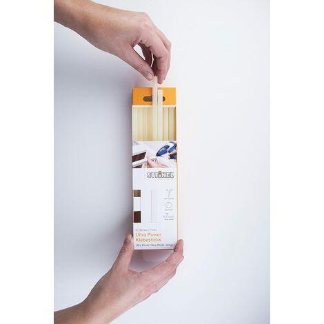 Steinel Bâtons de colle ULTRA POWER Ø 7mm - stylo á colle chaude universelle, longueur de 150mm, emballage de 240g