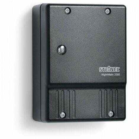 """main image of """"Steinel Interrupteur Crépusculaire NightMatic 2000 Façade de Maison Noir/Blanc"""""""