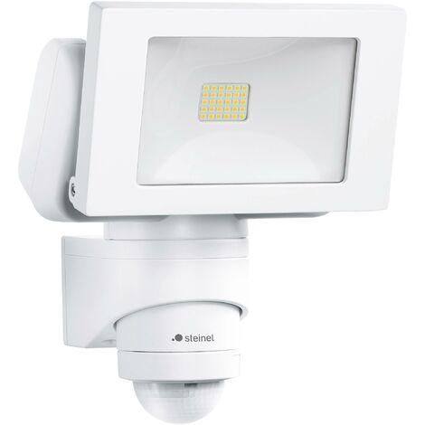 Steinel L 150 052553 Außenstrahler mit Bewegungsmelder 20.5 W Neutral-Weiß Weiß