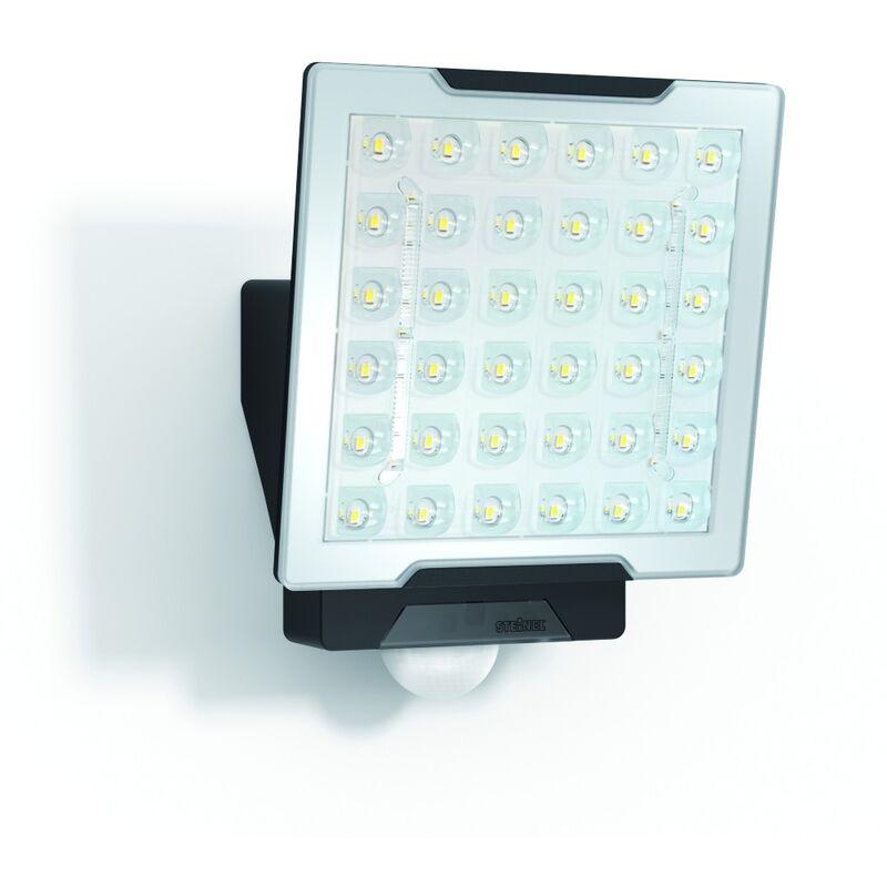 LED-Strahler 25W XLED 4000K 2400lm sw mt 1LED IP54 Konv breitstrahlend m.BWM - STEINEL