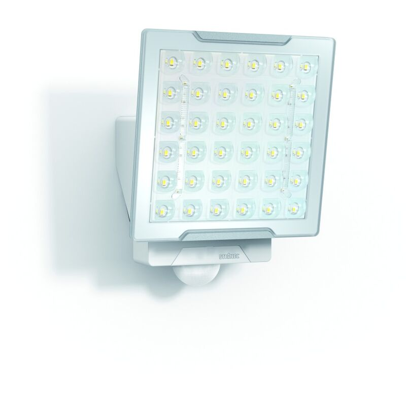 LED-Strahler 25W XLED 4000K 2400lm ws mt 1LED IP44 Konv breitstrahlend m.BWM - STEINEL