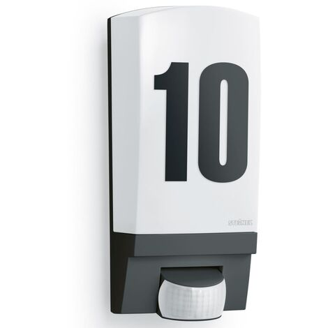 Steinel Outdoor Sensor Light L 1 White House Number