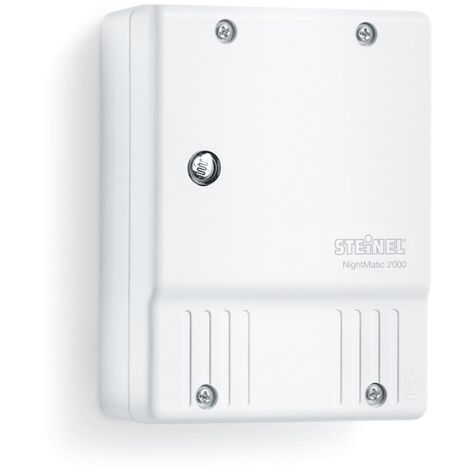 """main image of """"Steinel Photoelectric Lighting Controller NightMatic 2000 White"""""""