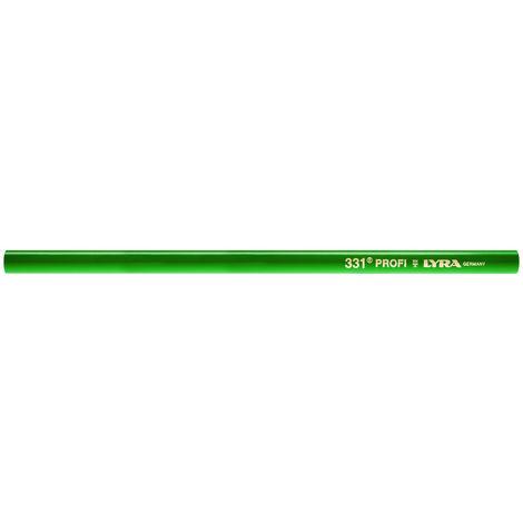 Steinhauerstift 331 oval grün 30cm Lyra