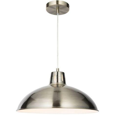 Stella Antique Brass Metal Ceiling Pendant Light Fitting