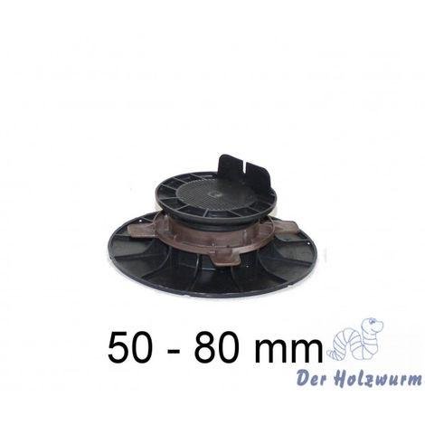 Stellfuß für Holzterrassen 50-80mm