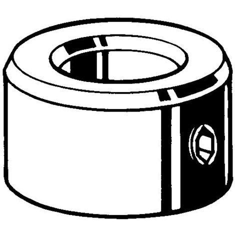 Stellringe mit Gewindestift Automatenstahl VZ DIN705A/DIN916 8X16X8mm 50Stk