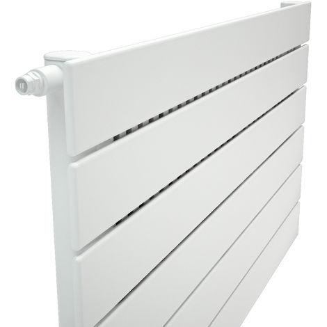 Stelrad Verona Single Panel White Horizontal Designer Radiator 588mm x 500mm
