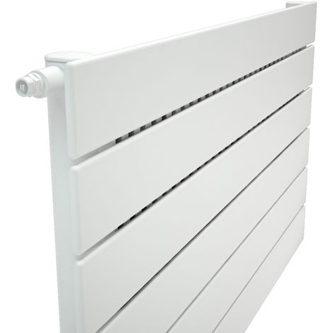 Stelrad Verona Single Panel White Horizontal Designer Radiator 588mm x 600mm