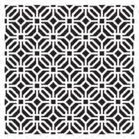 Stencil Geométrico Mouchara 30x30cm