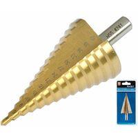 Step Drill HSS Steel Titanium Cone Bit Hole Metal Cutter Tool 4 - 42mm 20506
