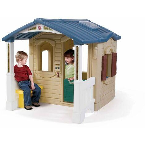 Step2 794100 Spielhaus mit Terrasse, Küche und Telefon
