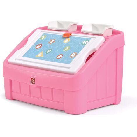 Step2 Caja artística de juguetes 2-en-1 77,5x48,3x48,3 cm 848800